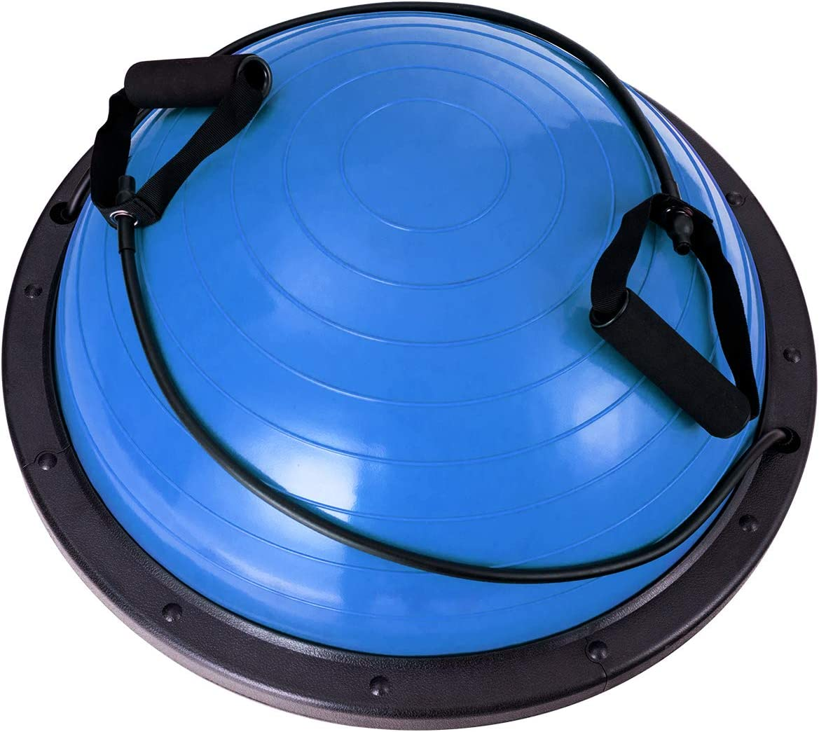 Balance Trainer Ball f/ür Gleichgewicht /& Stabilit/ät DREAMADE Yoga Balancetrainer mit Expander /& Pumpe Sport Balance Ball /φ60 cm Balancetrainer mit Belastbarkeit von 200 kg
