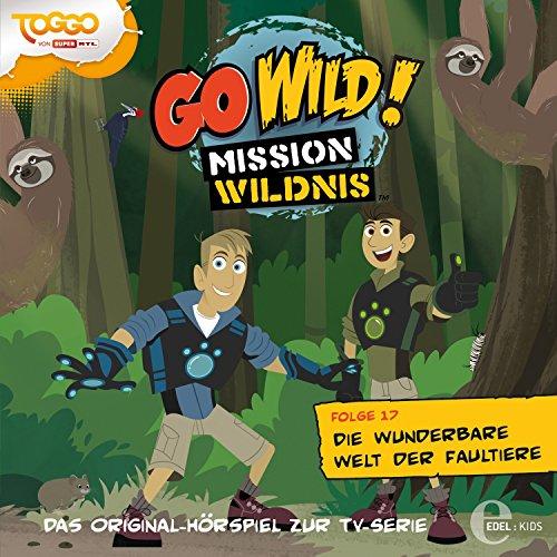 Die wunderbare Welt der Faultiere (Go Wild - Mission Wildnis 17) Titelbild