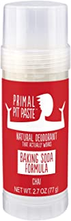 Primal Pit Paste All-Natural Deodorant - Aluminum & Paraben Free - Chai Deodorant Stick