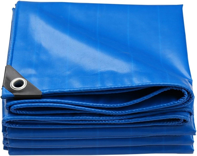 HU Markise Persenning doppelseitig wasserdicht wasserdicht wasserdicht verschleißfester Sonnenschutz Staubdichtes Tuch Plane , Dicke 0,45 mm, 550 g m², blau B07QLRYZQY  Elegante und stabile Verpackung a0ef79