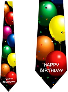 Birthday Ties Balloons Neckties Happy Birthday by Three Rooker