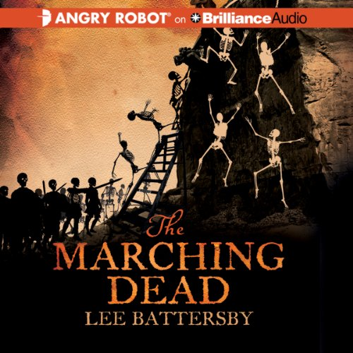 The Marching Dead audiobook cover art