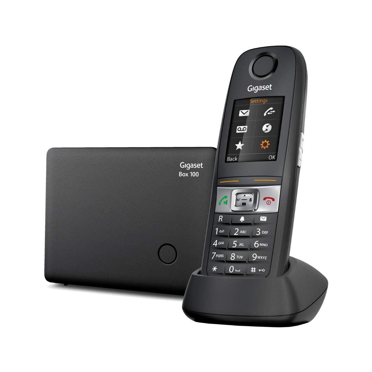 Gigaset E630 - Teléfono Inalámbrico Resistente a Polvo, Golpes y Salpicaduras, Color Negro: Gigaset: Amazon.es: Electrónica