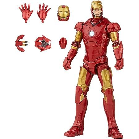 Marvel Hasbro - Serie Legends Figura de acción a Escala, 15.2 cm, Personaje de Juguete de Iron Man Mark 3 Infinity Saga, diseño prémium, Figura y 5 Accesorios