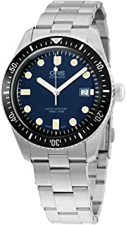 Oris Divers Sixty-Five Blue Dial Stainless Steel Men's Watch 73377204055MB