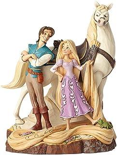 """Disney Traditions, Figura de Rapunzel, Flynn y Maximus de """"Enredados"""", Enesco"""