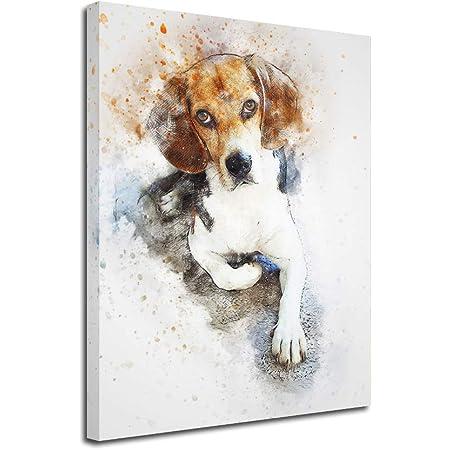 coffee print funny dog animal art dog decor wall art coffee canvas dog wall art coffee dog dog wall art beagle print animal decor