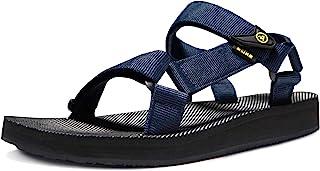ATIKA Men's Islander Walking Sandals, Arch Support Trail Outdoor Hiking Sandals, Strap Sport Sandals, Summer Water Shoes