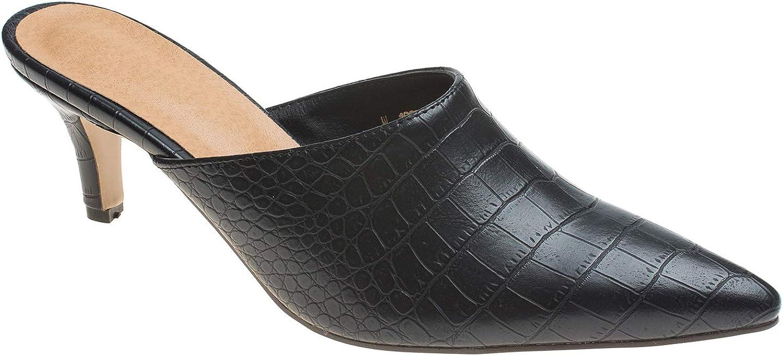 AnnaKastle Womens Pointy Toe Kitten 5 NEW before selling ☆ ☆ popular Mule Heel Shoes Slipper