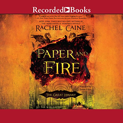 Paper and Fire audiobook cover art