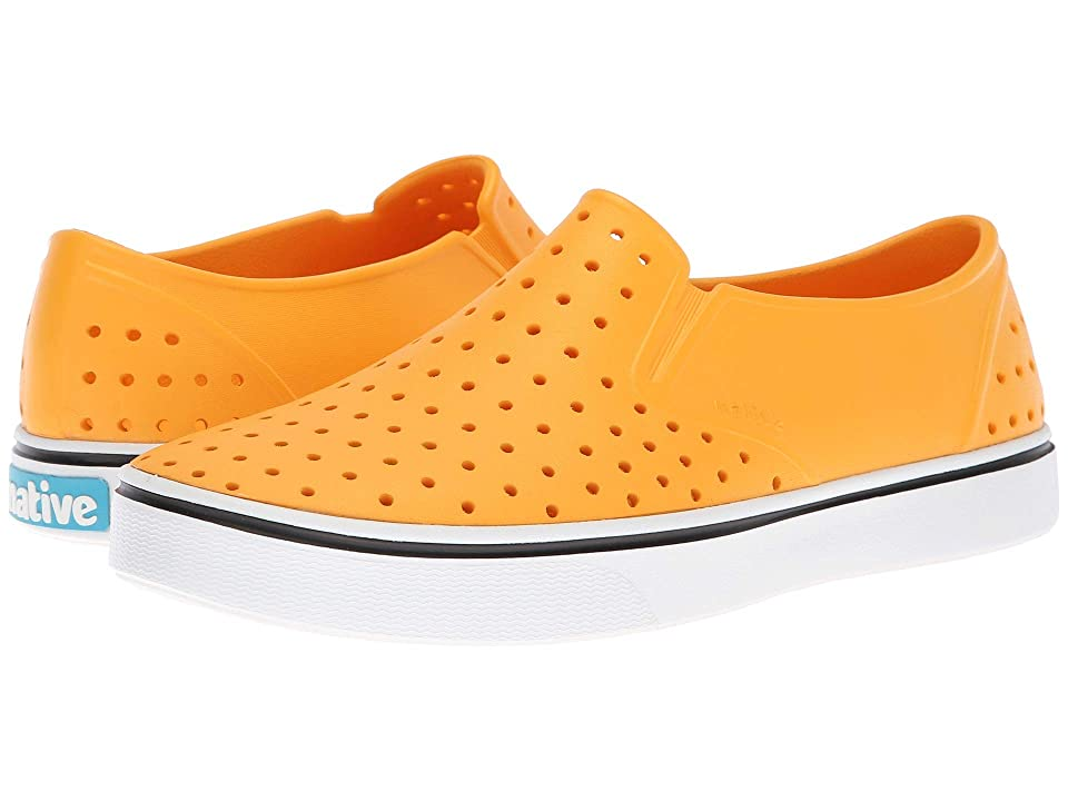 Native Shoes Miles (Beanie Yellow/Shell White) Athletic Shoes