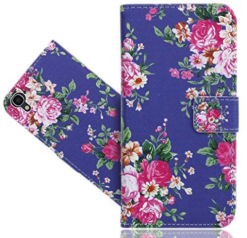 FoneExpert® Alcatel Idol 3 (4.7 inch) Handy Tasche, Wallet Case Flip Cover Hüllen Etui Hülle Ledertasche Lederhülle Schutzhülle Für Alcatel Idol 3 (4.7 inch)