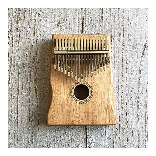 Kalimba, Daumenklavier 17 Key Kalimba Customized gravieren afrikanischen Fest Kiefer Mahagoni Daumen Finger Klavier Sanza Mbira Calimba Musikinstrumente