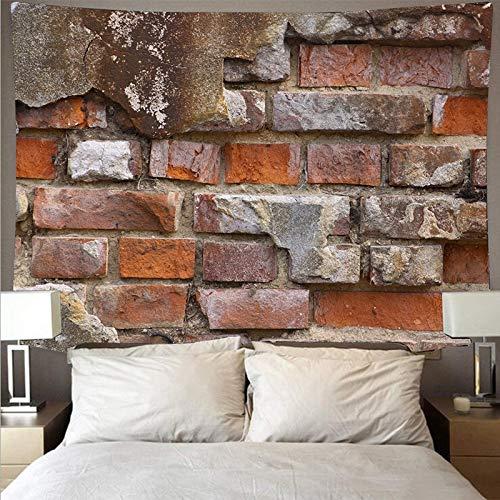 Textura de madera tapiz estilo registro piedra fondo tela tela colgante decoración del hogar mural colgante de pared a17 180x200 cm