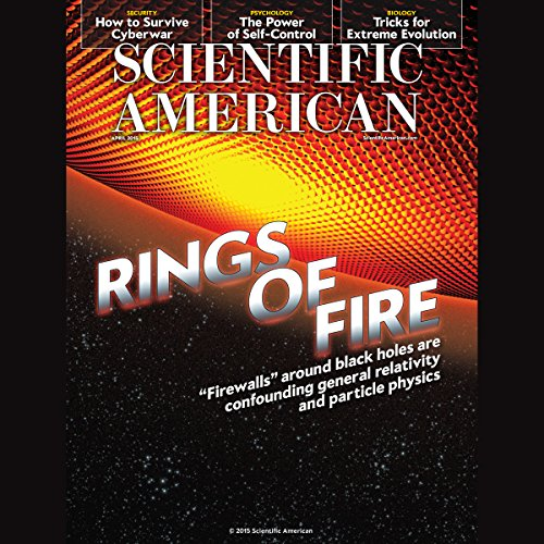 Scientific American, April 2015 audiobook cover art