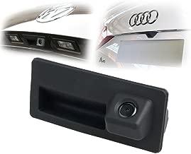 CCD Waterproof Car Trunk Handle Camera Vehicle Reverse Rear View Backup Camera for Audi A4 A5 S7 A6L A4L VW Passat Tiguan Golf Skoda Touran Sharan Magotan Touareg Sagitar