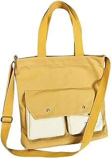 Fanspack Women Top Handle Bag Tote Bag Casual Large Capacity Crossbody Bag Shoulder Bag