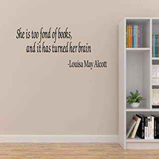 Famous Quotes Wall Decals for the Home Books Are a Uniquely Portable Magic Office Stephen King Quotes or School Library Book Quotes Wall Decals