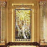 mmzki Klassische skandinavischen Stil übergroße Leinwand Malerei Landschaftsmalerei Kunst Dekoration Malerei Veranda Wohnzimmer Hintergrund Dekoration Rollbild J 60X120CM