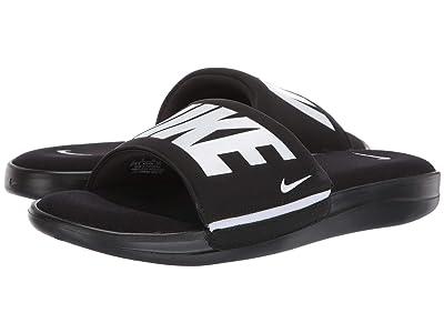 Nike Ultra Comfort 3 Slide (Black/White/Black) Men