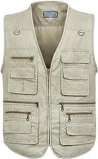 invaincu x style exquis en vente en ligne Amazon.fr : Gilet Reporter - 5XL / Homme : Vêtements