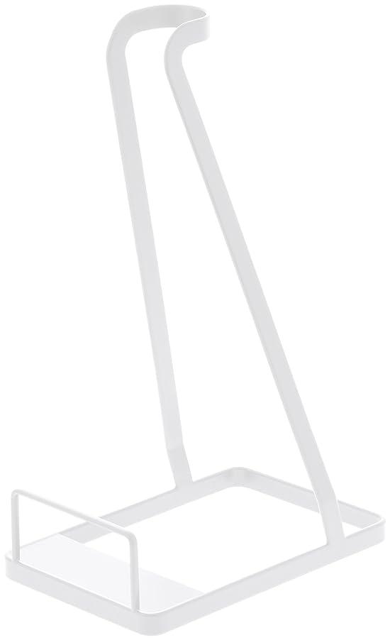 人生を作るローンオーラル山崎実業 クリーナースタンド スティッククリーナースタンド 掃除機たて タワー ホワイト 3273