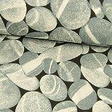 Dekostoff Steinoptik grau - Preis Gilt für 0,5 Meter