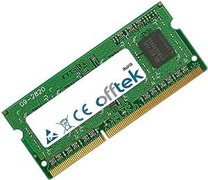 OFFTEK 4GB Replacement RAM Memory for Toshiba Satellite L745 (PSK12U-03NLM3) (DDR3-12800) Laptop Memory