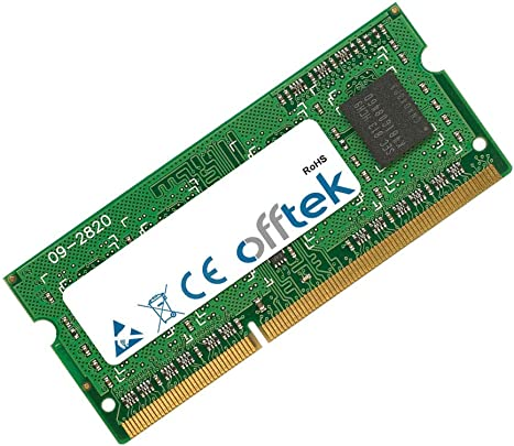 OFFTEK 8GB Ersatz Arbeitsspeicher RAM Memory f r Apple MacBook Pro 2 4GHz Intel Quad-Core i7  17-inch   DDR3   Late-2011   DDR3-10600  Laptop-Speicher