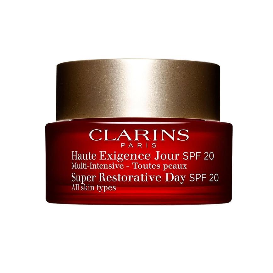 宇宙の閃光抗生物質Clarins Super Restorative Day Spf20 50ml [並行輸入品]