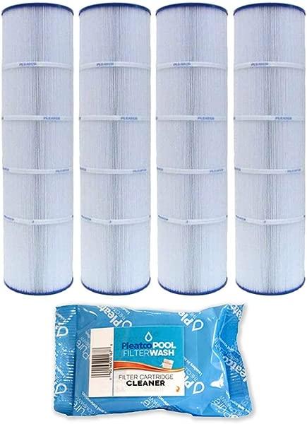 4 包 Pleatco 滤芯过滤器 PJAN115 PAK4 包 4 个 Jandy CL460 A0558000 W 1x 过滤器清洗