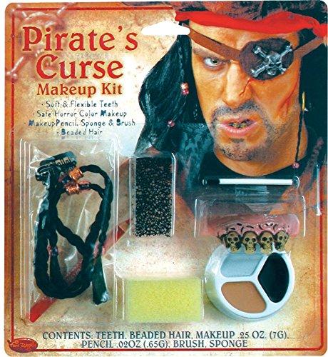 Costumes pour toutes les occasions FW9421P Pirate Kit de caract-res d'horreur