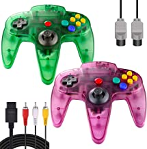 Sponsored Ad - ZeroStory Classic N64 Controller, Wired N64 Controller Joystick with 5.9 Ft N64 AV Cable for N64 Video Game... photo