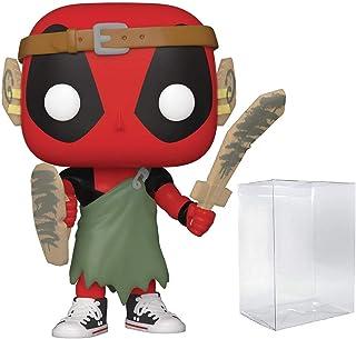 LARP Deadpool Pop #780 Pop Marvel Deadpool Vinyl Figure (Bundled with EcoTek Protector to Protect Display Box)
