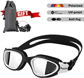 Focevi Swimming Goggles for Men/Women, Polarized...