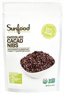 Sunfood Superfoods - Chocolate Cacao Nibs - 8 oz.