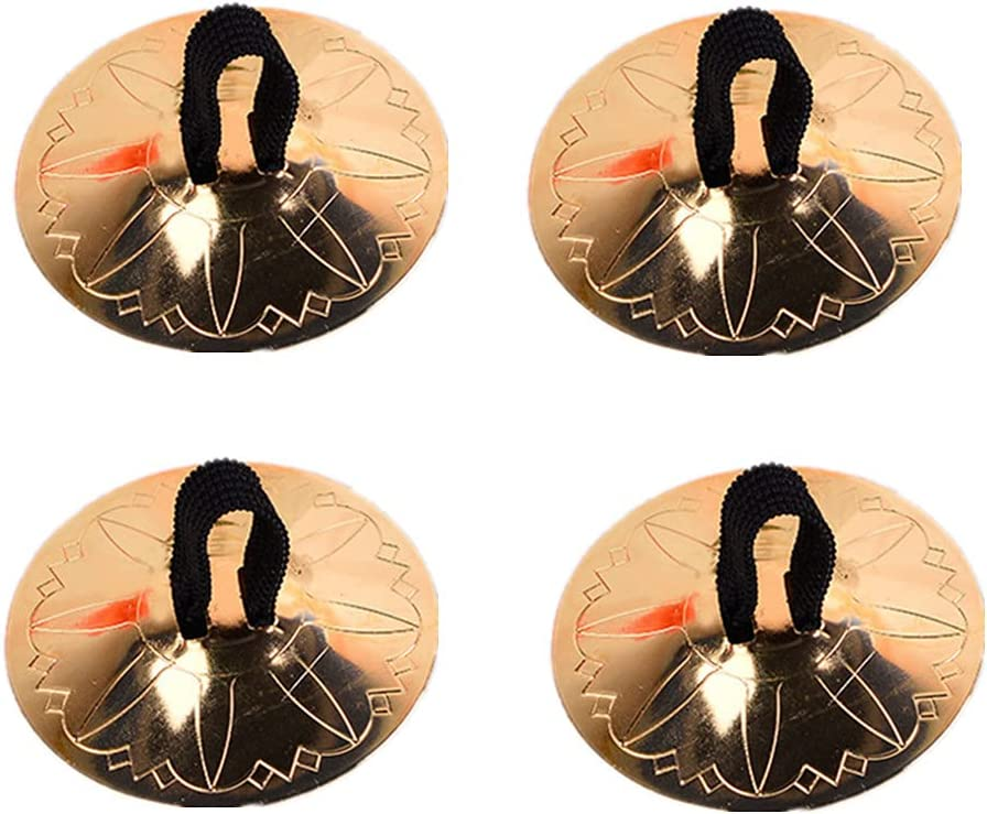 1 year warranty Finger Cymbals Belly Dancing Musical Albuquerque Mall Instrum Zills 2pairs