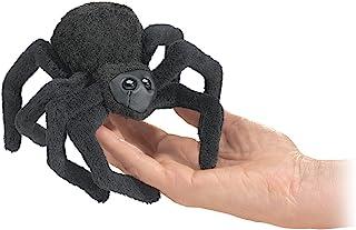 Folkmanis Mini Spider Finger Puppet, Black