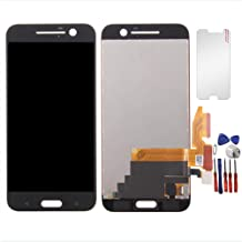 for HTC One 10 M10 M10H New LCD Display Screen Touch Digitizer Replacement Assembly Part (Black)