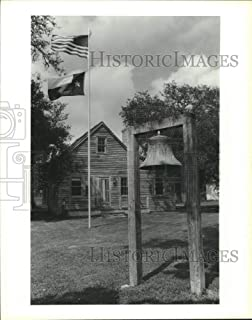 Vintage Photos 1987 Press Photo Outside of The Varner-Hogg State Park in Texas - hca56364