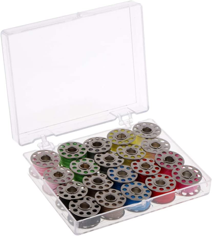 DYNWAVE 20pcs Stainless Steel Sewing and Bobbin Don't miss the Large discharge sale campaign Machine Assorted