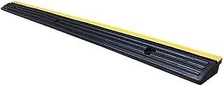 安全ランプ傾斜路縁石倉庫出入り口の敷居、ゴム製車椅子学校の減速ゾーンを長くする(サイズ:98 * 7.5 * 3CM)