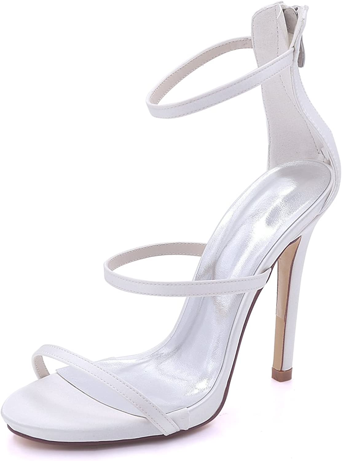 Hjtrust Women's shoes for Prom Evening Party Pumps Heels for Girl Wedding shoes 7216-05