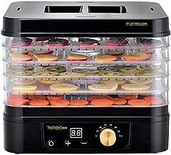 Machine de conservation des aliments ménagers Déshydrateur alimentaire, Déshydrateur alimentaire carré Mini permet de régl...