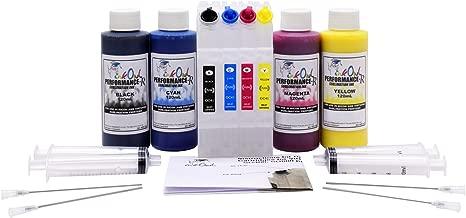 InkOwl Performance DYE Sublimation Refill Kit (4x120mL) + Refillable Cartridges for SG400, SG800