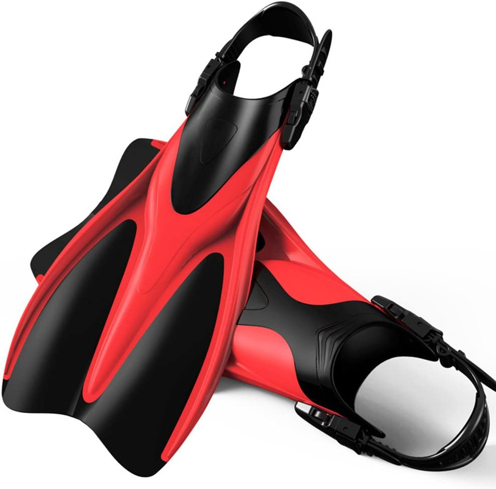 Teerwere Fin Snorkeling and Swimming Travel Fins Flipper for Swi