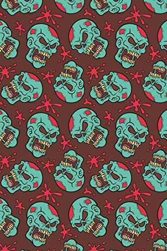 Zombie Notizbuch: Zombie Cover Design / 120 Seiten / Liniert / DIN A5 + / Soft Cover / Optimal als Tagebuch, Bullet Journal, Malbuch, Skizzenbuch usw.