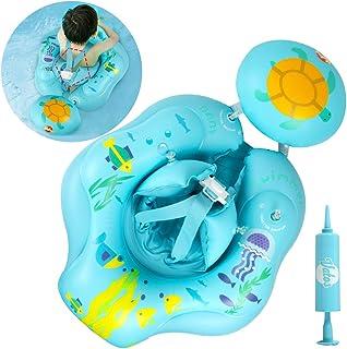 VATOS Flotadora para bebés 6meses-30meses Inflable Flotador de Natación para Bebés Bebé Recién Nacido Aprende a Nadar Entrenador Inflable Flotador para Bebés