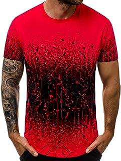 メンズ tシャツ 花千束 ゆったり 半袖 夏服 オシャレ 人気 プレゼント 快適 通気性 フィットネス 大きいサイズ カットソー スポーツシャツ