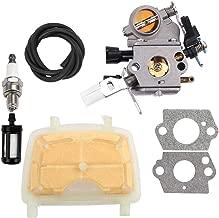 Dalom C1Q-S121C Carburetor w Air Filter for STIHL MS171 MS181 MS211 MS 181 171 211 Gas Chainsaw Fuel Filter Spark Plug 1139 120 1602